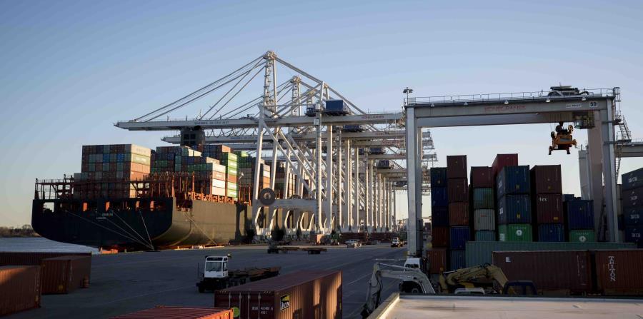 El puerto de Savannah en Georgia el 30 de enero del 2018 (horizontal-x3)