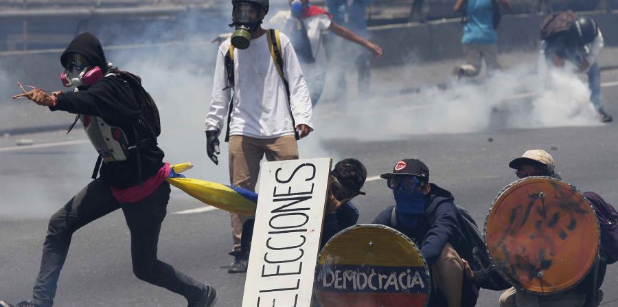 Aumenta a 29 la cifra de muertos en Venezuela (horizontal-x3)