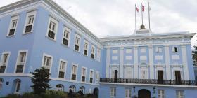 Cientos de personas protestan frente a Fortaleza para evitar la reducción en pensiones