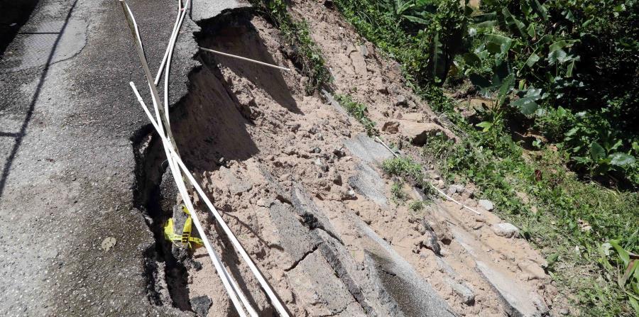 Varias carreteras se vieron afectadas durante el paso de Irma. (horizontal-x3)