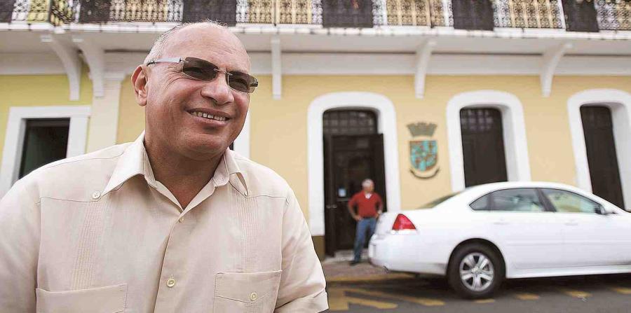 El alcalde de Sabana Grande, Miguel