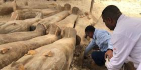 Revelan nuevos detalles sobre el hallazgo de 30 ataúdes con momias en Egipto