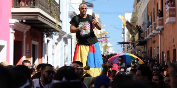 Concurrido el último día de las Fiestas de la Calle San Sebastián