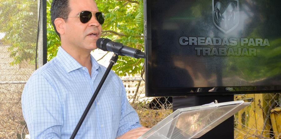 Ricardo García, gerente general de Fiat Chrysler Automobiles Caribbean. (Enid M. Salgado/Especial para GFR Media)