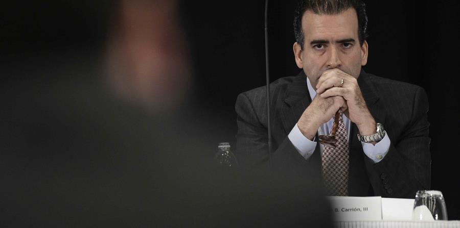 José Carrión, presidente de la Junta de Supervisión Fical. (GFR Media) (horizontal-x3)
