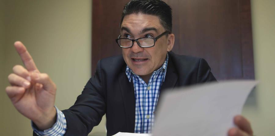 El comisionado de Seguros de Puerto Rico, Javier Rivera Ríos. (horizontal-x3)