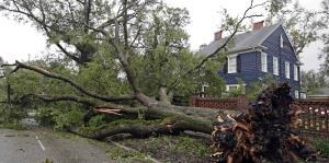 Visibles las secuelas del huracán Florence en Carolina del Norte