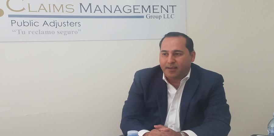 Para José Jaime Negrón, presidente de Claims Management Group, muchas de las reclamaciones cerradas sin paga pudieron haber recibido paga de haber contado con un ajustador público. (horizontal-x3)