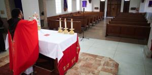 La iglesia vacía: católicos viven la ...