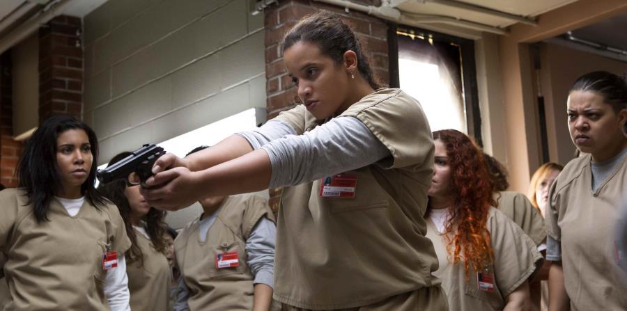 La diversidad ha sido desde sus inicios una característica de la serie y en su reparto no han escaseado los rostros hispanos, como son los casos Laura Gómez (Blanca Flores) y Dascha Polanco (Daya), entre otros. (horizontal-x3)