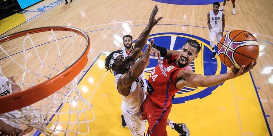 Gian Clavell estará activo en la Liga de Verano de Las Vegas con los Warriors. (FIBA) (horizontal-x3)