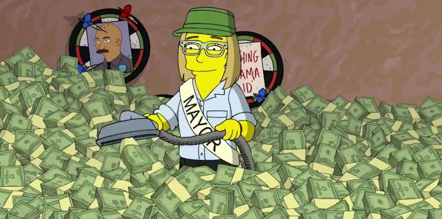 Los Simpsons difundió el corto a través de su cuenta oficial de Twitter. (horizontal-x3)