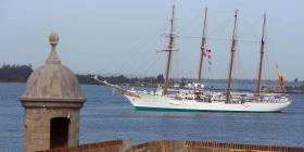 Buque escuela de la armada española llegará mañana a San Juan