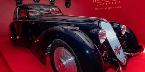 Alfa Romeo 8C Berlinetta de 1937 es el auto más prestigioso del mundo