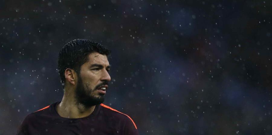 El futbolista uruguayo, Luis Suárez (horizontal-x3)