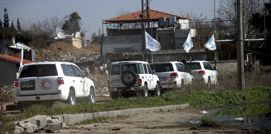 El pasado 18 de marzo comenzó la salida de civiles y combatientes de Al Waer, que se está llevando a cabo gradualmente, gracias a un pacto logrado entre las autoridades sirias y las facciones locales. (horizontal-x3)