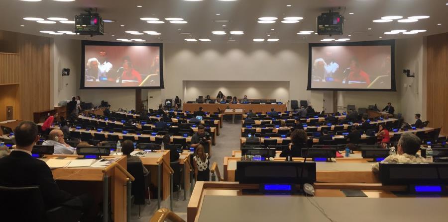 Imagen de la Asamblea del Comité de Descolonización de la ONU cuando se reunió ayer para atender el caso de Puerto Rico. (horizontal-x3)