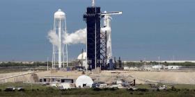 Así funciona el impresionante sistema de protección con agua para el lanzamiento de cohetes