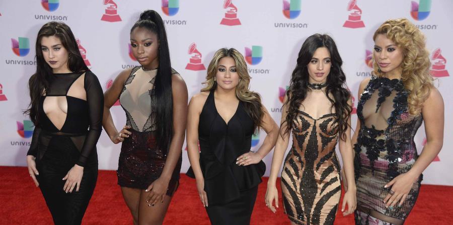El grupo estaba compuesto originalmente por cinco integrantes hasta que se fue Camila Cabello. (GFR Media) (horizontal-x3)