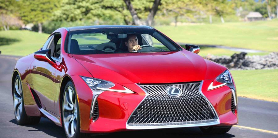 El Lexus LC500 estará en la isla a partir de junio.