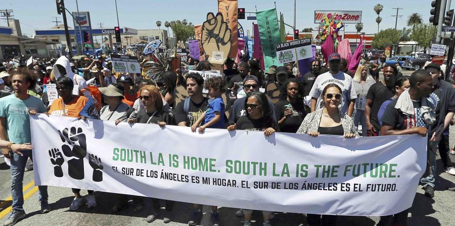 Conmemoran los 25 años de los disturbios en Los Ángeles por Rodney King (horizontal-x3)