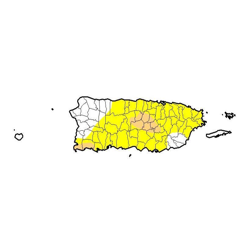 En el 2015 se reportó una sequía en la isla ante el efecto generado por el fenómeno oceánico-atmosférico de El Niño. (semisquare-x3)