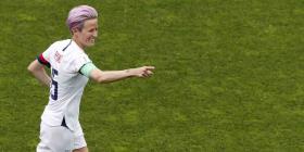 Trump critica a estrella de la selección femenina de fútbol de Estados Unidos