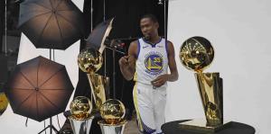 Durant  dice que los jugadores de los Warriors obtendrán estatuas