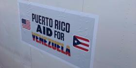 Sale un barco desde Puerto Rico con ayuda para Venezuela