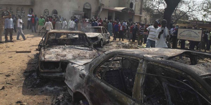En los últimos años se han reportado varios ataques terroristas contra iglesias en Nigeria en el que han muerto feligreses. (horizontal-x3)