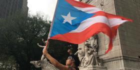Puertorriqueños en Nueva York se unen al paro nacional