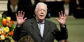 Carter resurge de la oscuridad política a los 94 años