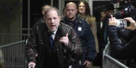 Seleccionan el jurado para el juicio de Weinstein por violación