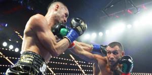 Momentos de la pelea entre Vasyl Loma...