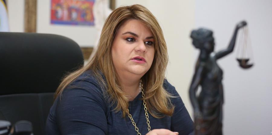La comisionada residente en Washington, Jenniffer González, anunció el concurso. (horizontal-x3)