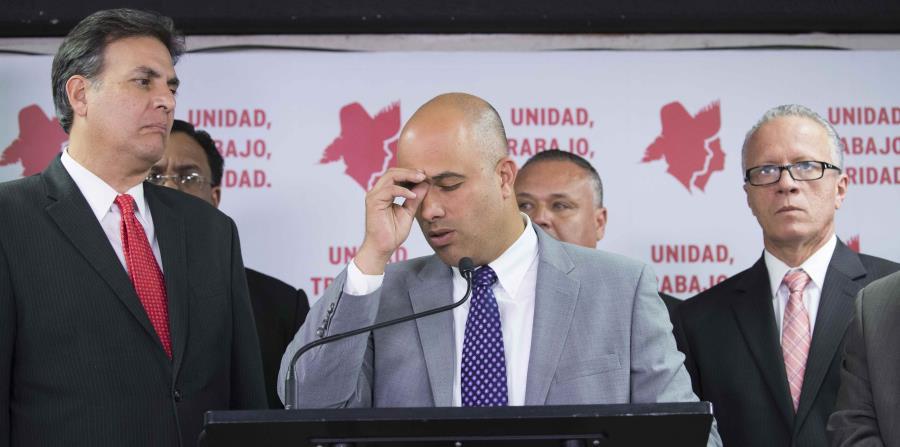Héctor Ferrer dijo que la disputa entre cuatro representantes del PPD es un asunto personal y no ideológico. (horizontal-x3)