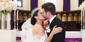 """De ensueño la boda de la ex """"Nuestra Belleza Latina"""" Aleyda Ortiz"""