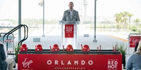 Inaugura oficialmente la construcción del tren que conectará Orlando y Miami