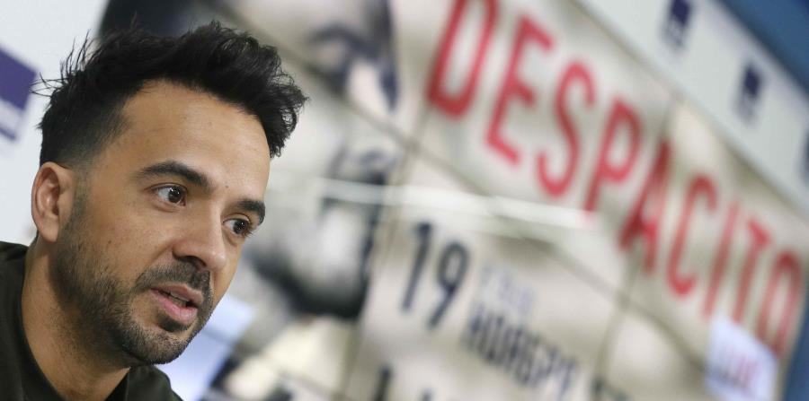 El cantante puertorriqueño, Luis Fonsi (horizontal-x3)