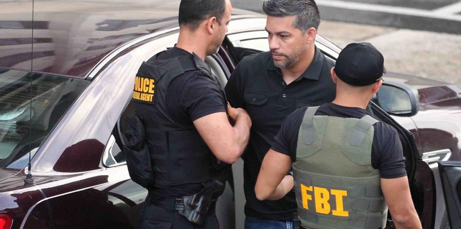 Ramón Orta durante su arresto en junio del año pasado. (GFR Media) (horizontal-x3)