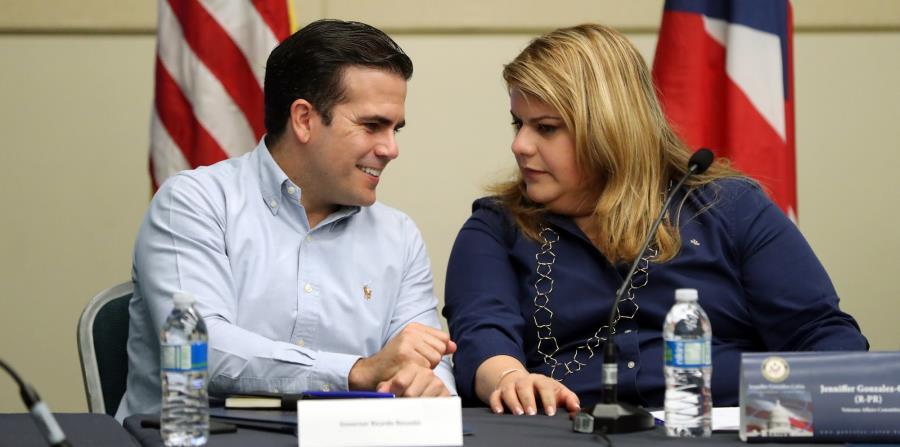 Tanto el gobernador Ricardo Rosselló Nevares como la comisionada Jenniffer González han tenido un listado ambicioso de medidas para tratar de incluir en cualquier proyecto de final de sesión. (horizontal-x3)