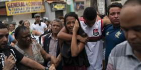 Muerte de niña genera indignación en favela de Río de Janeiro