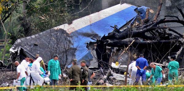 Cuba dice que las causas del accidente del avión no se conocen aún