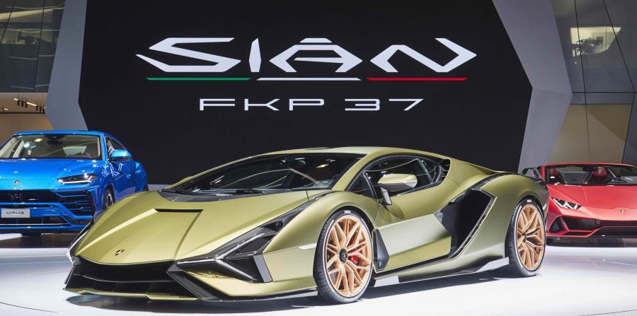 Lamborghini Sián FKP 37. (Suministrada)
