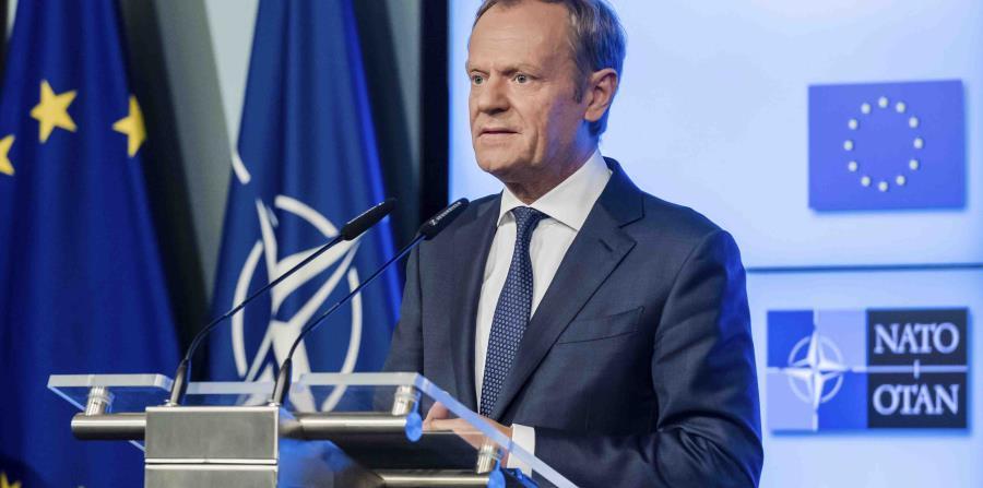 el presidente del consejo europeo pide a trump que aprecie