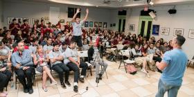 Estudiantes aprenden sobre la sobriedad