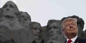 Trump aviva la división racial en su discurso de celebración del 4 de julio