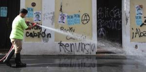 Así amaneció el Viejo San Juan después del tercer día de manifestaciones