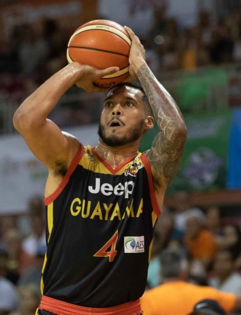 José Rodríguez salió del banco y logró 24 puntos por los Brujos. (GFR Media) (vertical-x1)