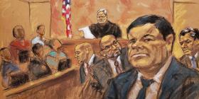 """La defensa de """"El Chapo"""" solicita un nuevo juicio"""